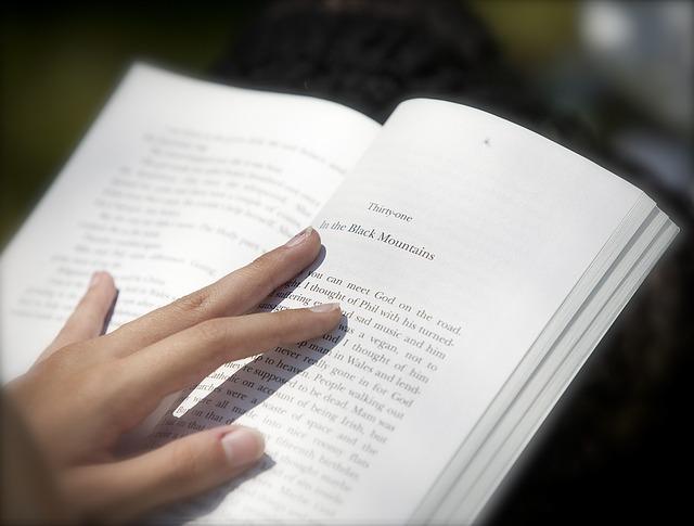 kniha v angličtině