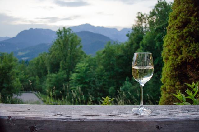víno na horách