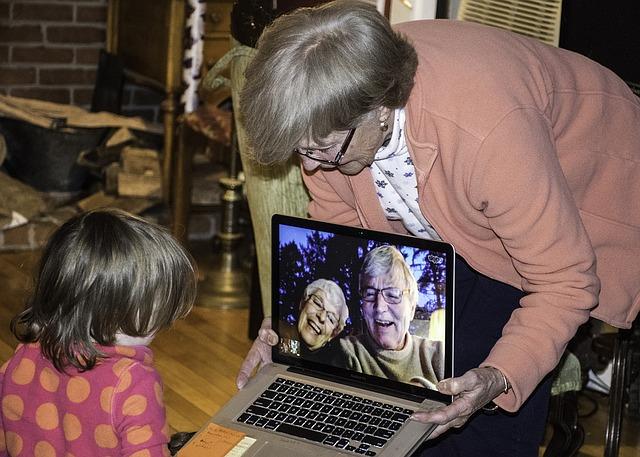 Skype s rodinou